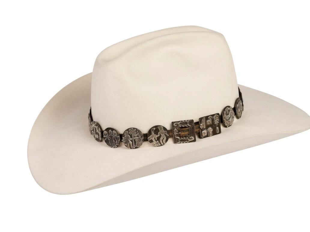 Alarid Sterling Storyteller Hat Band