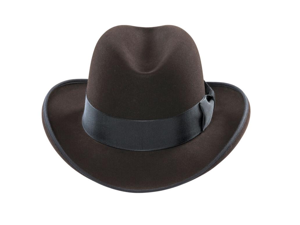 Homburg Fur Felt Hat