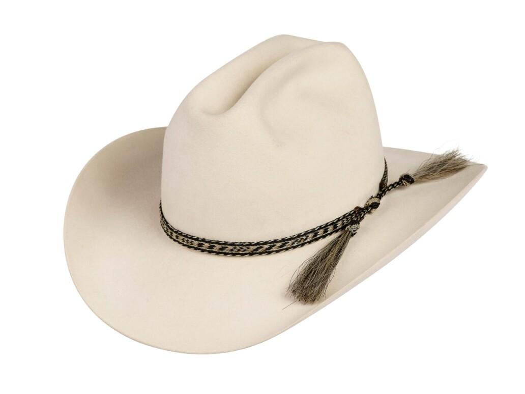 Hernandez Horsehair Double Tassel Hat Band