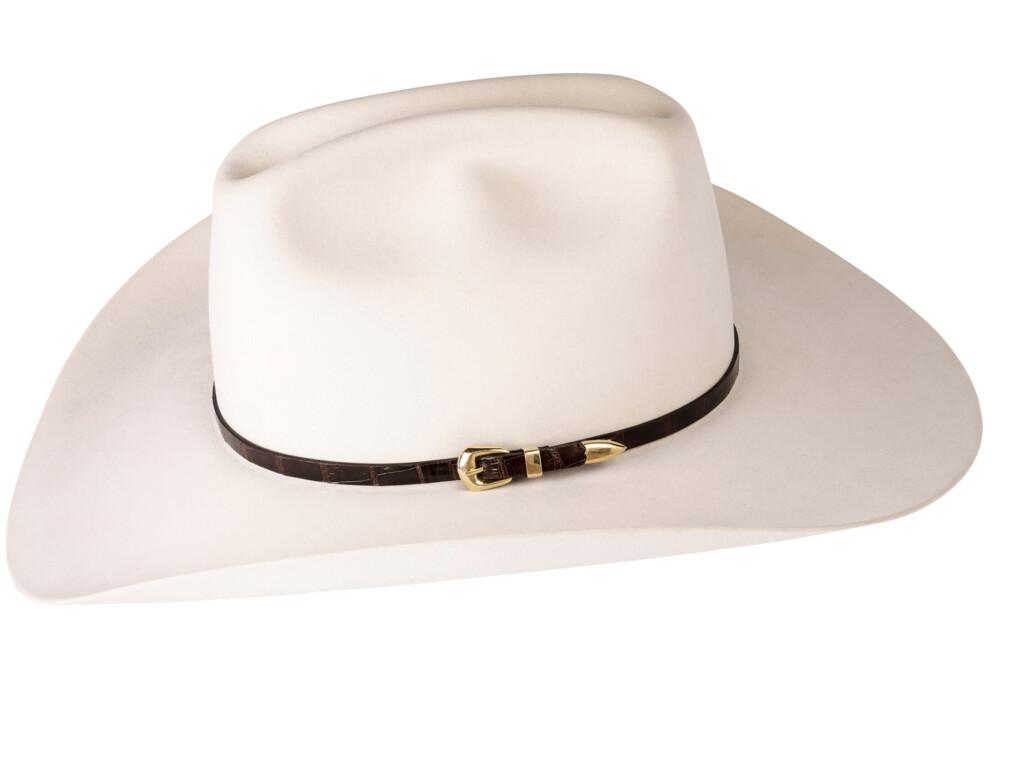 Kallas 18K Gold Buckle Set Hat Band