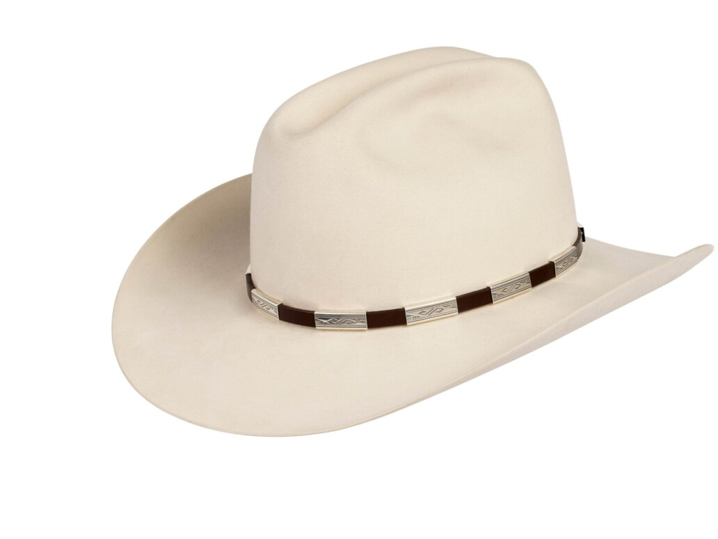 SM6 Hopi Bird Hat Band Silver Mesa