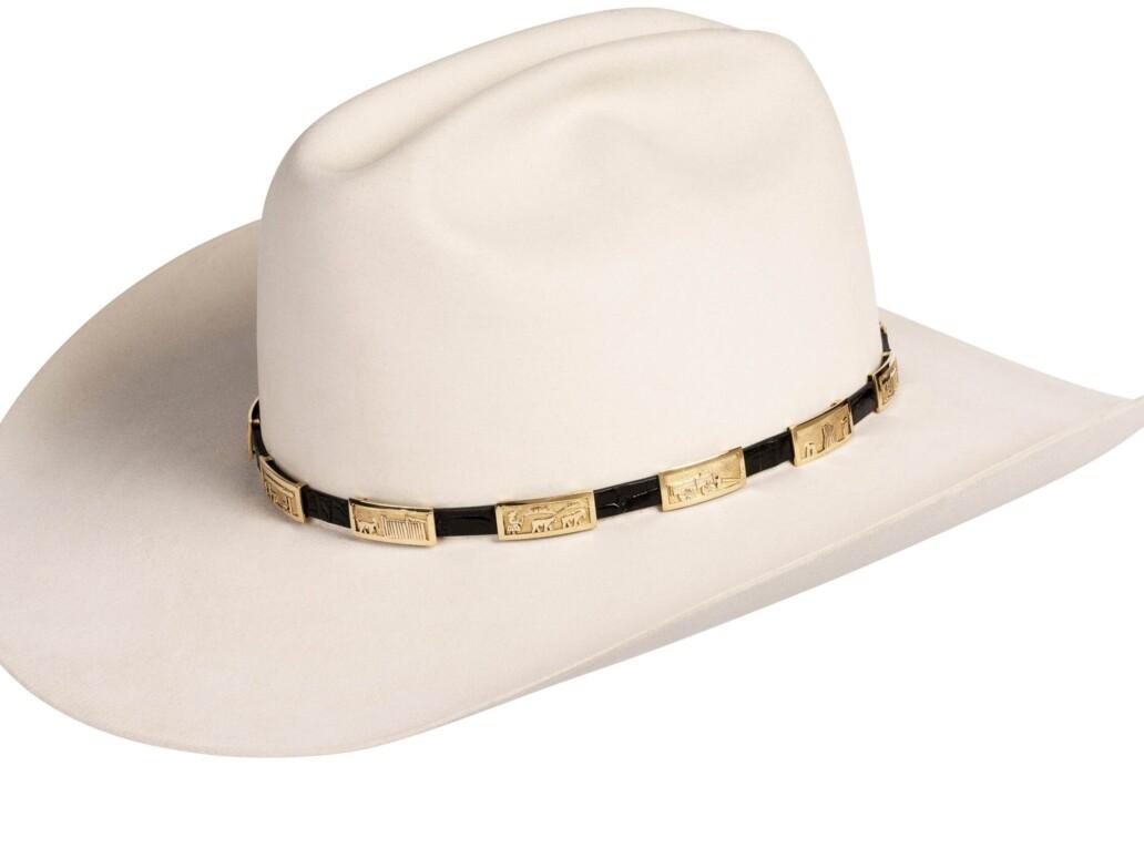 Tabaha Gold Storyteller Hat Band