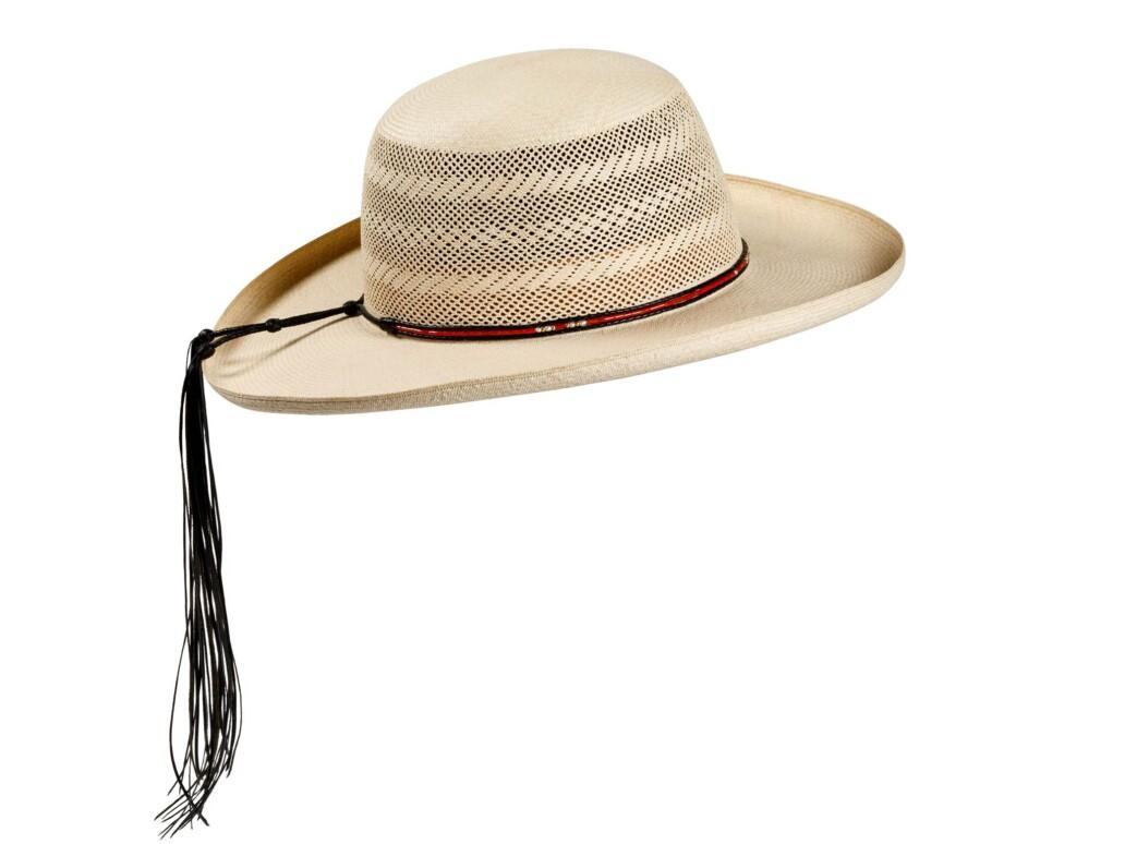 Pencil curled cloche Panama Hat